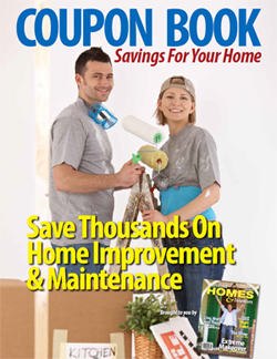 download/view the coupons, big savings for your home!